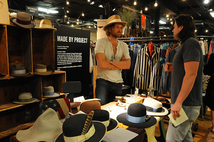 project new york trade show wraps up in soho