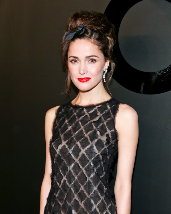 Rose Byrne, (wearing Chanel Fine Jewelry)