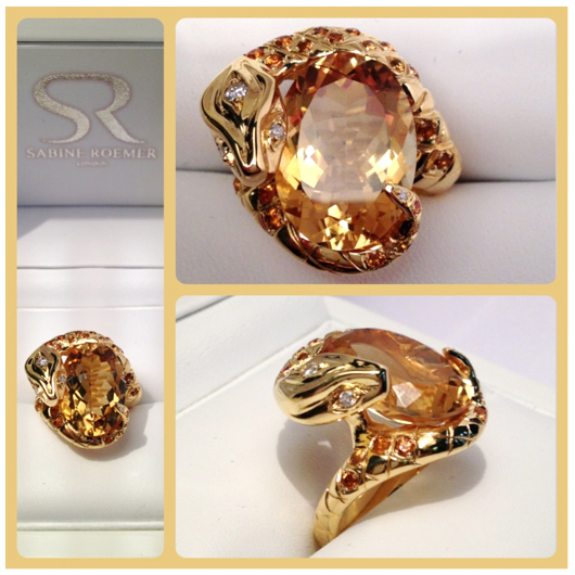 Indira Ring by Sabine Roemer