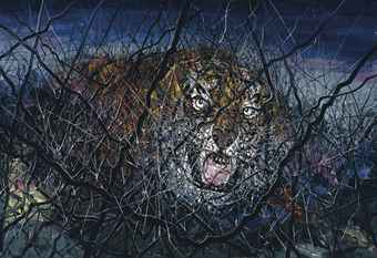 zeng_fanzhi_the_tiger_5,040,000_oilcanvas
