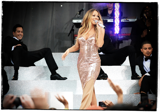 central park music series - Mariah Carey