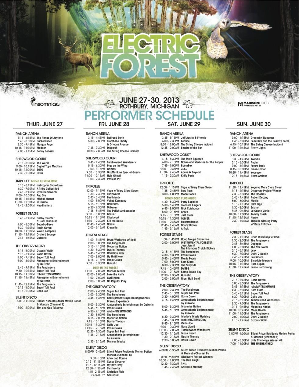 ef-2013-performer-schedule