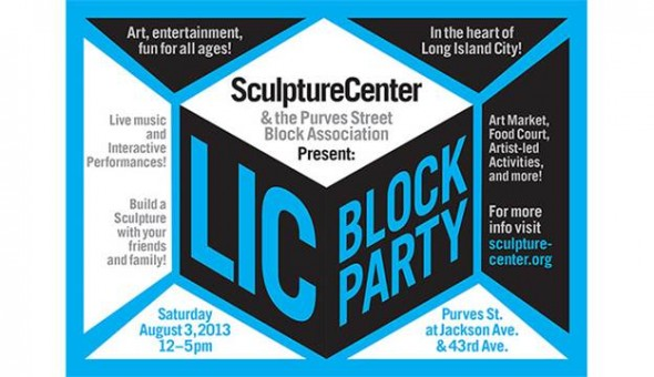 SculptureCenter LIC Block party