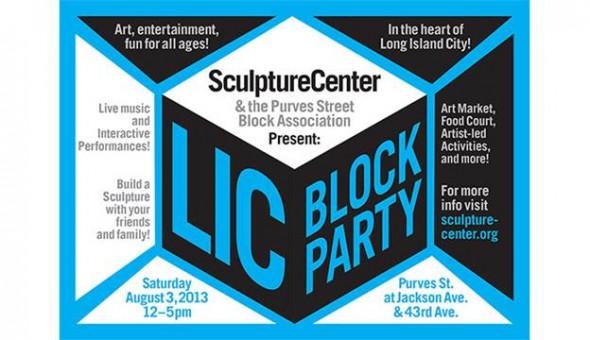 SculptureCenter LIC Block party