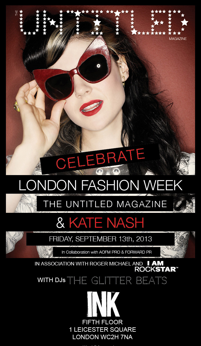 The-Untitled-Magazine-Kate-Nash-Invite-LFW-New-Venue