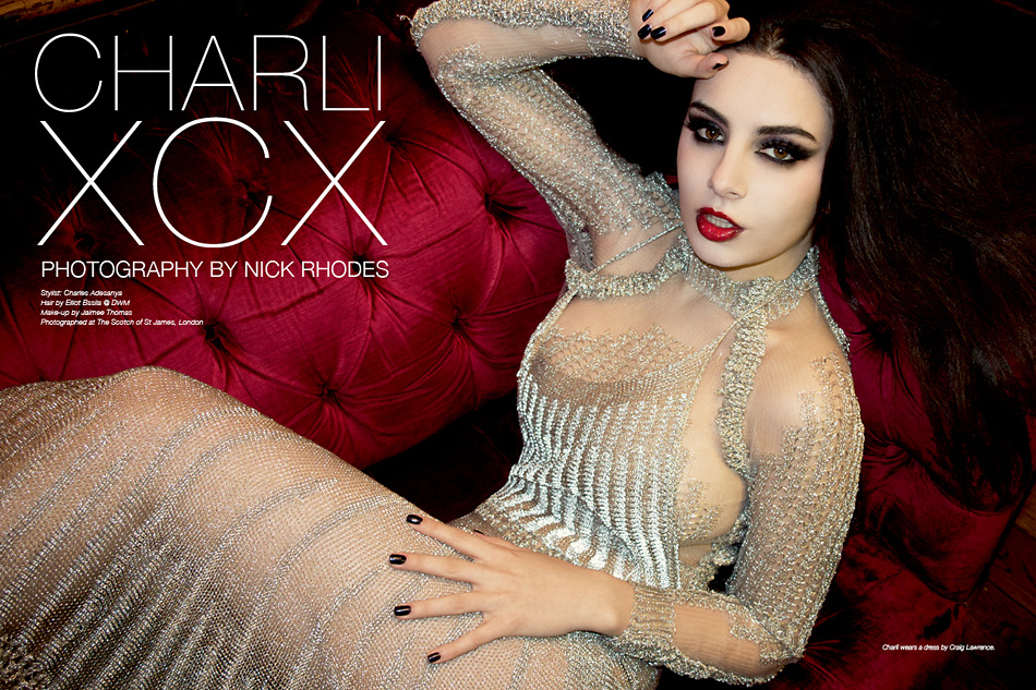 Charli XCX by Nick Rhodes for The Untitled Magazine