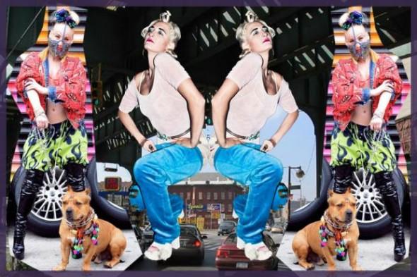 Collaborative artists Ms. Fitz and Angelina Dreem created Bushwick Gone Basel.