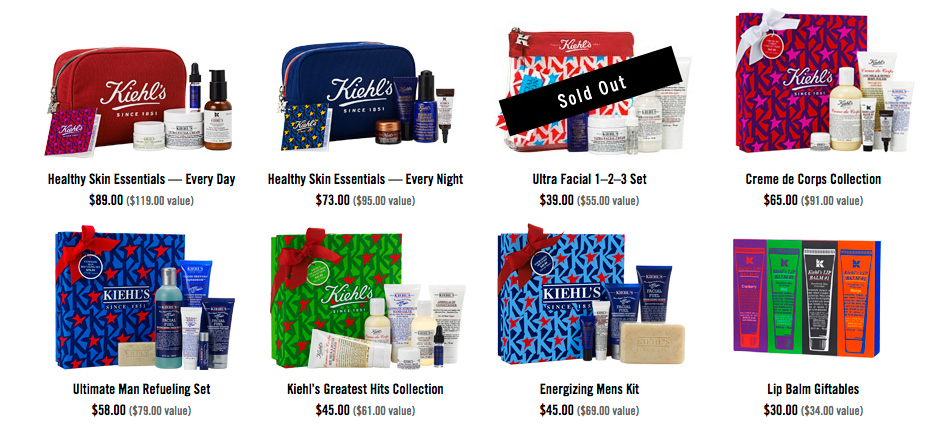 gifts by kiehls