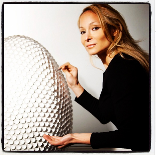The Egg of Light by Indira Cesarine - Faberge Big Egg Hunt