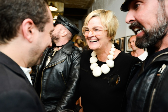 PRINCESS GLORIA VON THURN UND TAXIS Come On Darling Dont Be Mad Opening at Hotel Chelsea