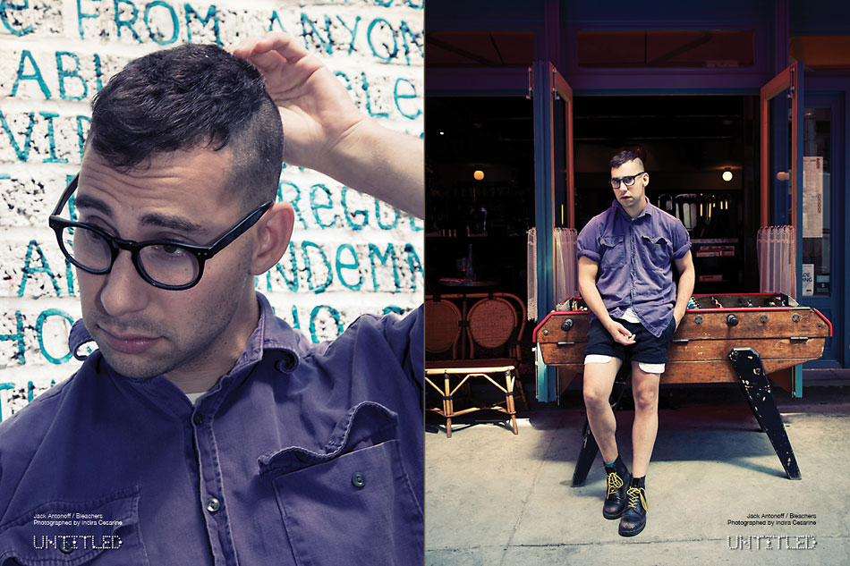 Jack Antonoff - Bleachers - The Untitled Magazine - Photography by Indira Cesarine