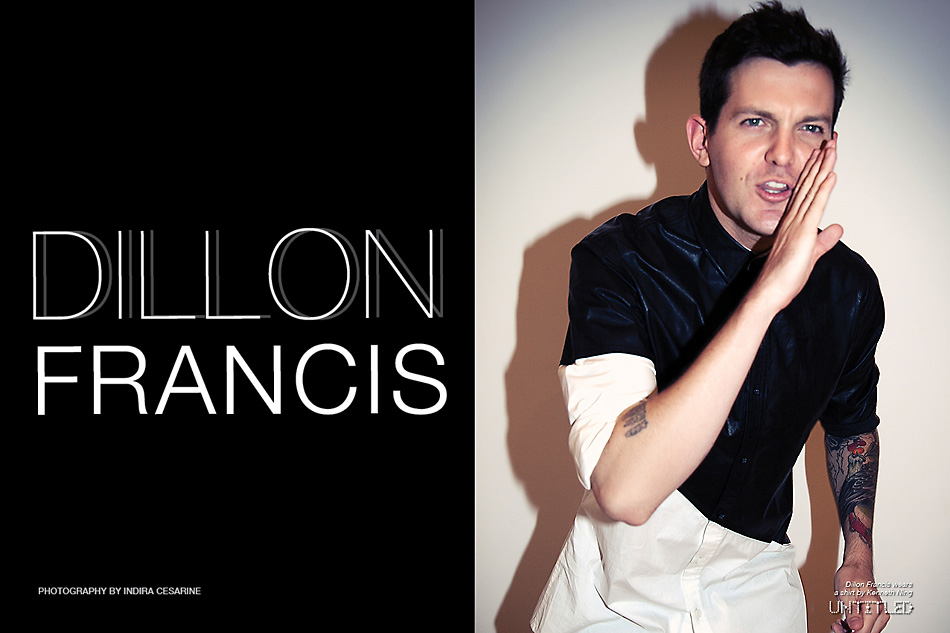 Dillon Francis - Photography by Indira Cesarine for The Untitled Magazine