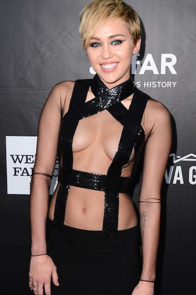 Miley amfAR