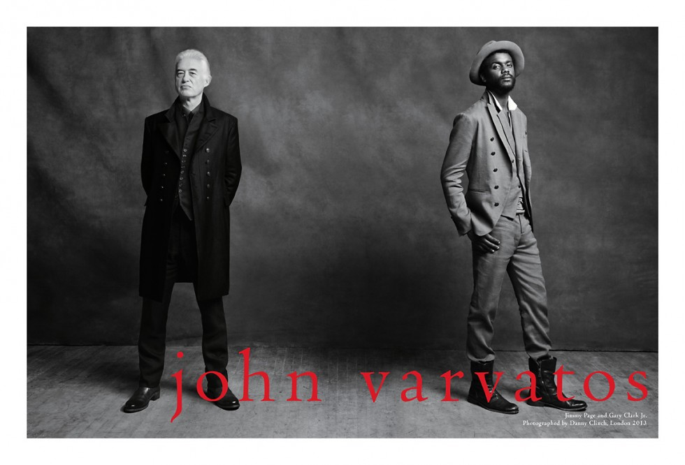 Varvatos Jimmy Page - Gary Clark Jr
