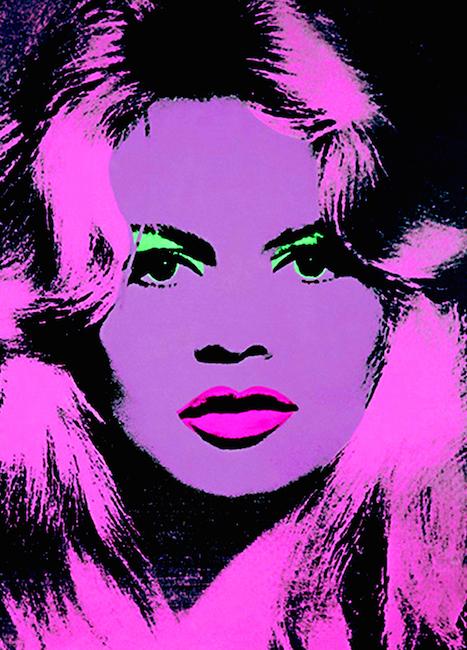 Warhol Andy Brigette Bardot
