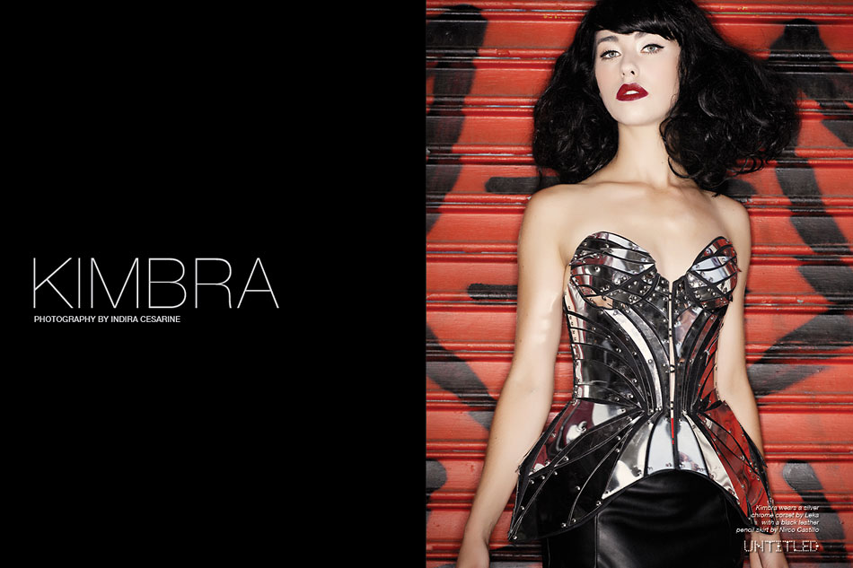 Kimbra- The Untitled Magazine - Photography by Indira Cesarine