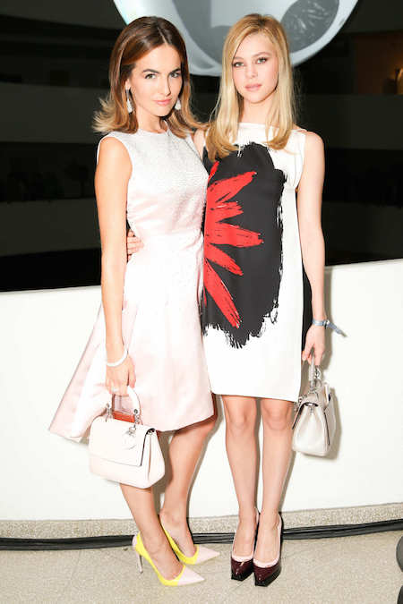 Actresses Camilla Belle + Nicola Peltz, photo courtesy of BFA Photo
