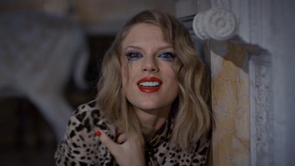 "Taylor Swift in ""Blank Space"""