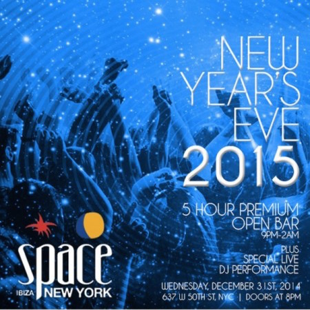 Club Space New Year's Eve 2015
