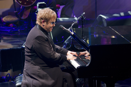 Elton John New Year's Eve