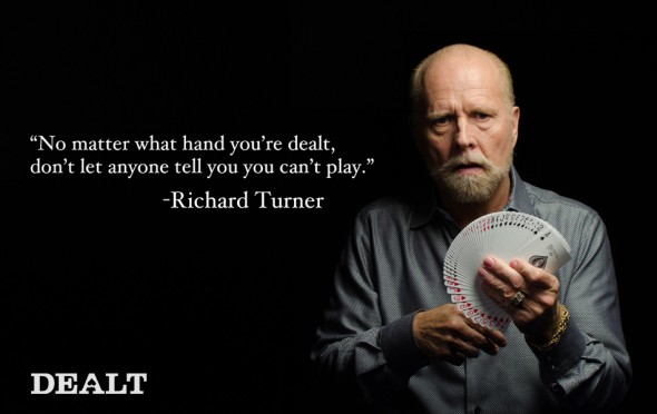 Richard Turner, Dealt
