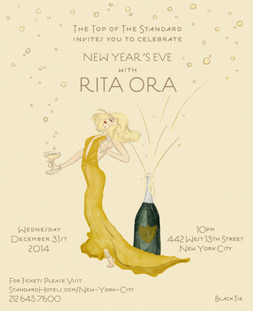 Rita Ora New Year's Eve