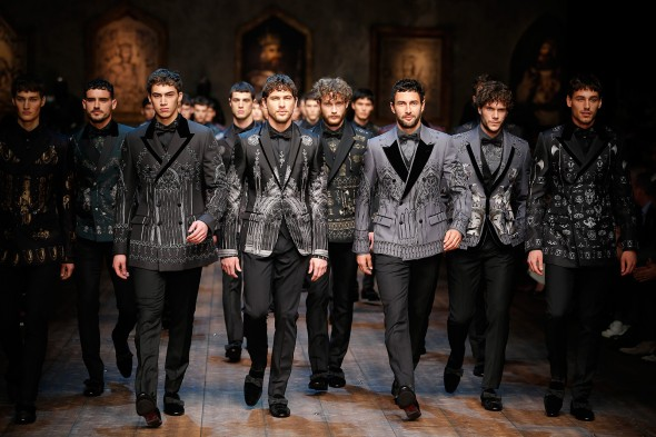 Dolce & Gabbana, Milan Men's Fashion Week A/W 2014