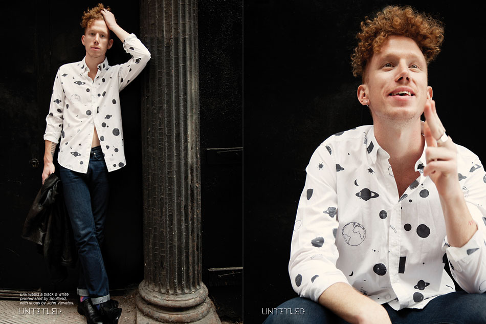 Erik Hassle - Photography by Indira Cesarine for The Untitled Magazine