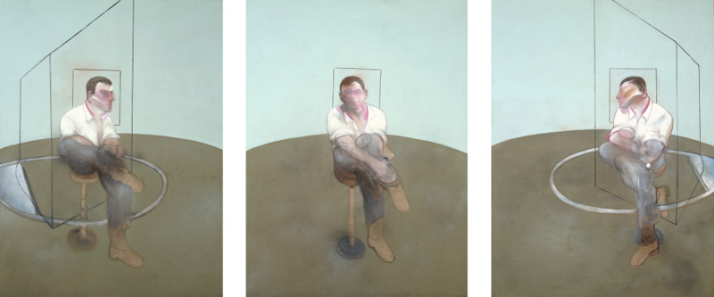 Francis Bacon's Three Studies for a Portrait of John Edwards, 1984