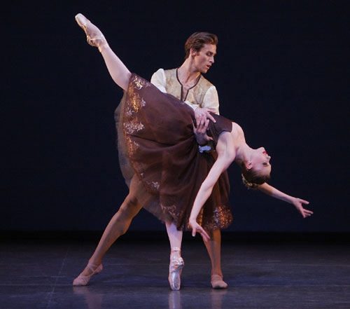 Dancers for The New York City Ballet