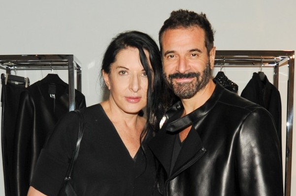Ennio Capasa with Marina Abramovic