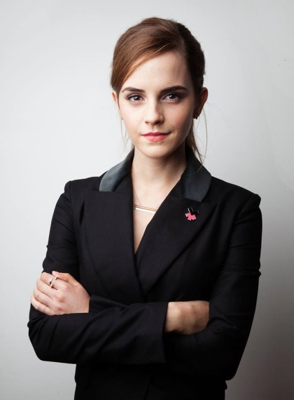 Emma Watson launches new IMPACT 10x10x10 initiative at the World Economic Forum in Davos