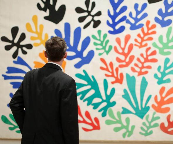 Henri Matisse's Cutouts Exhibit