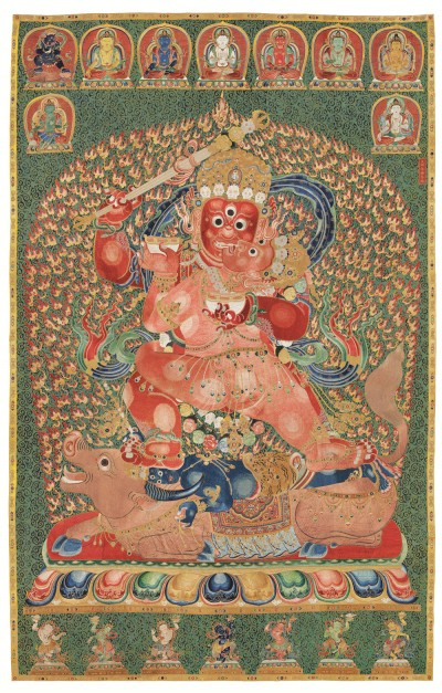 Yongle Embroidered Thangka, which sold for a record price in Hong Kong