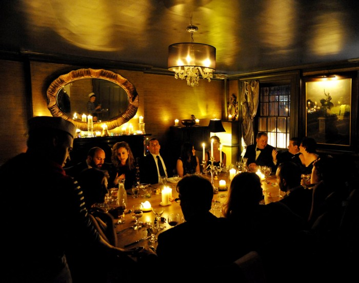 Dinner Salon at Pravda Soho