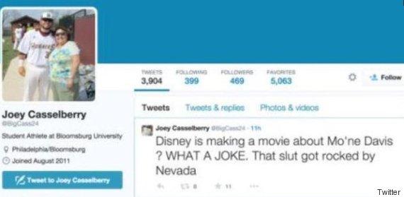 Mo'Ne Davis Slut Tweet