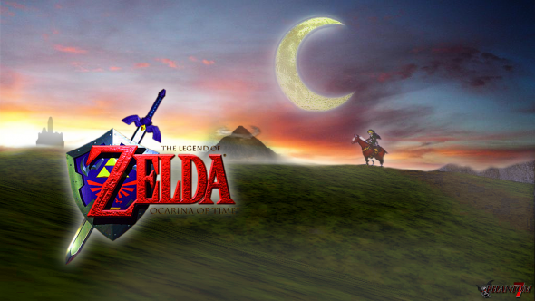 Zelda Ocarina of Time Poster