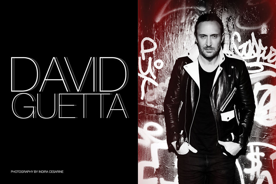 David Guetta for The Untitled Magazine Photography by Indira Cesarine