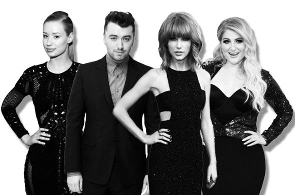 bbma-nominees-iggy-azalea-sam-smith-taylor-swift-meghan-trainor-2015-billboard-650-590x390