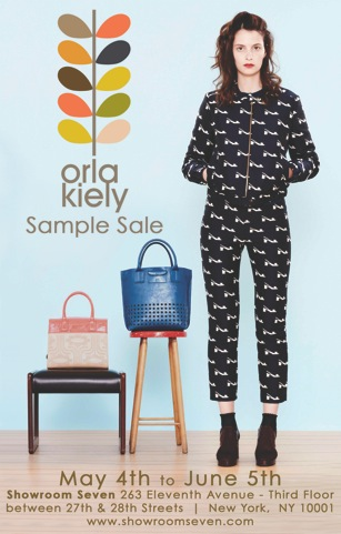 orla sample sale