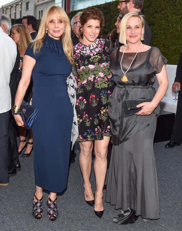 Roseanna Arquette, Marisa Tomei, and Patricia Arquette.  Photo by Billy Farrell/BFA.Com