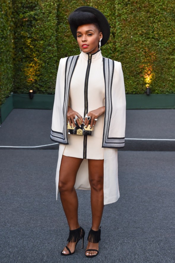 Janelle Monae. Photo by Billy Farrell/BFA.Com
