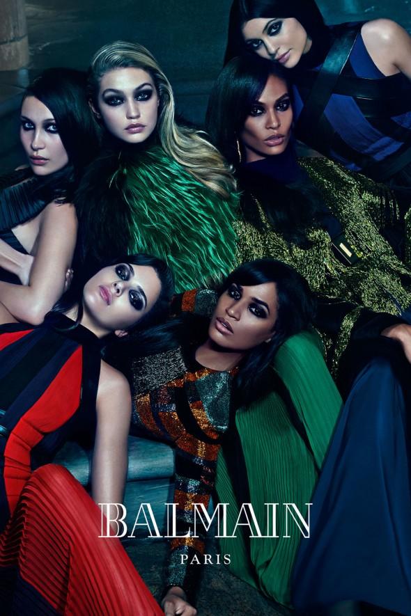 Balmain 2015 Fall Ad Campaign