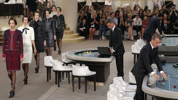 Chanel Haute Couture Fall Winter 2015/2016 fashion  REUTERS/Stephane Mahe