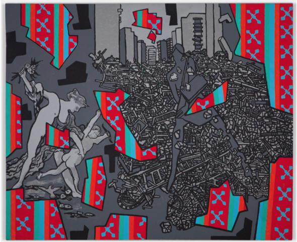 Derek Boshier's Love, Hate, and Fashion, 2009