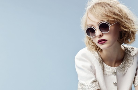 Lily Rose Depp for Chanel Fall-Winter 2015