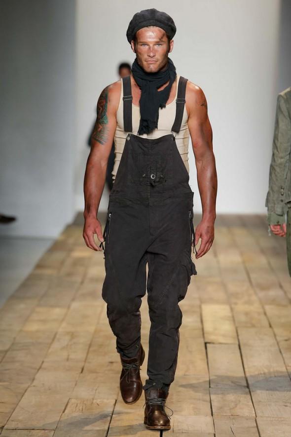 Greg Lauren Spring/Summer 2016 Menswear. Image: style.com