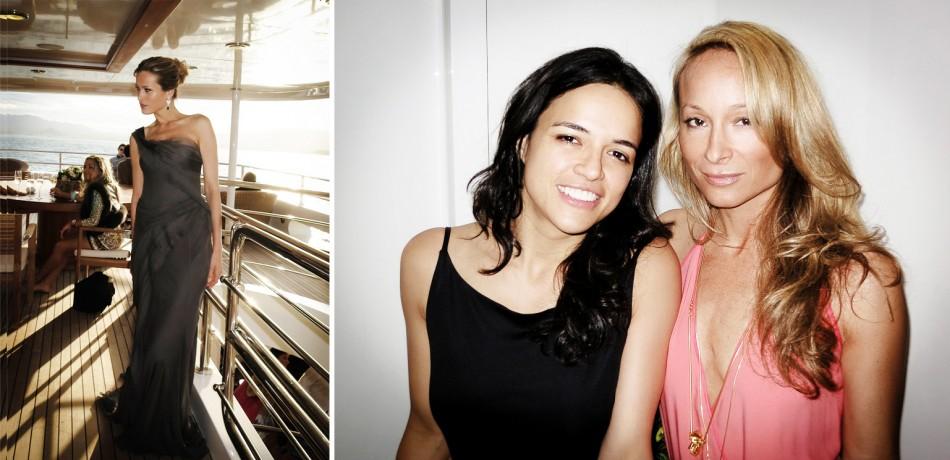 Petra Nemcova - Michelle Rodriguez - Indira Cesarine - Cannes 2012