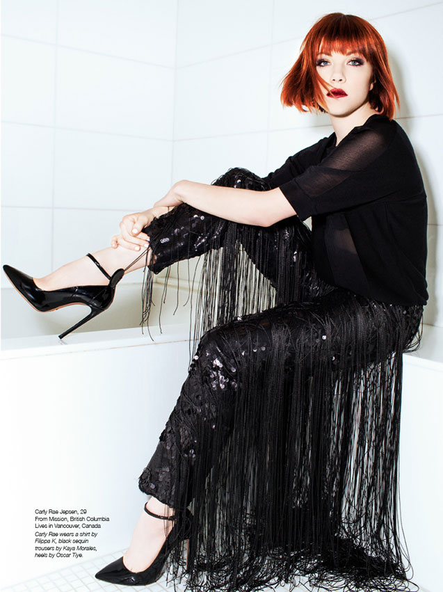 The Untitled Magazine GirlPower Issue - Carly Rae Jepsen - Photographed by Pamela Littky
