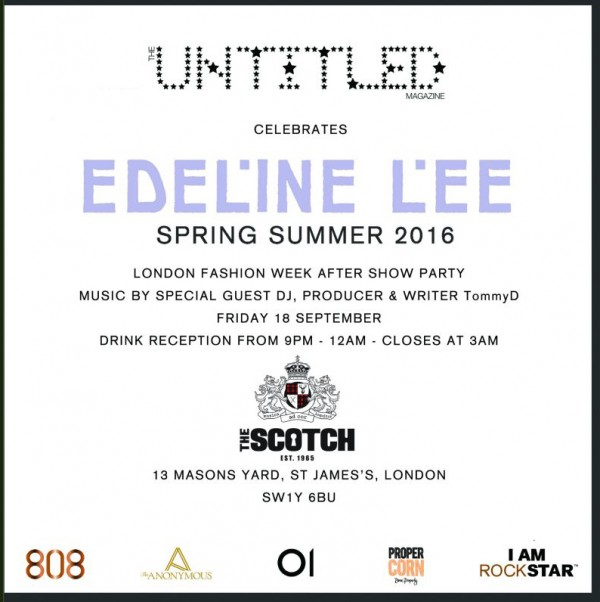 Untitled Magazine + Edeline Lee Party